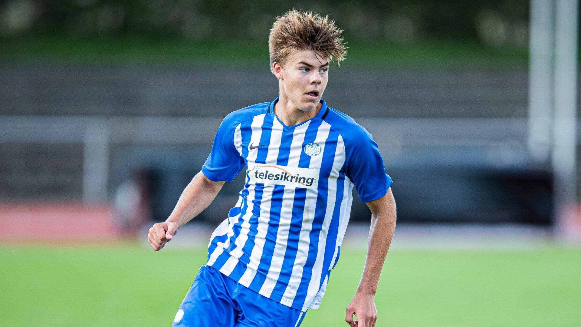Jørgensen og Kristensen med U17-landsholdet
