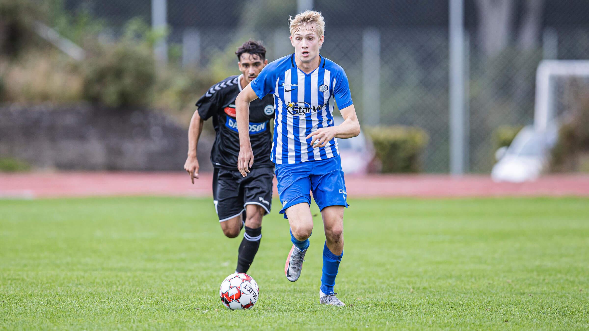 Rejnhold dobbelt målscorer i U19-sejr