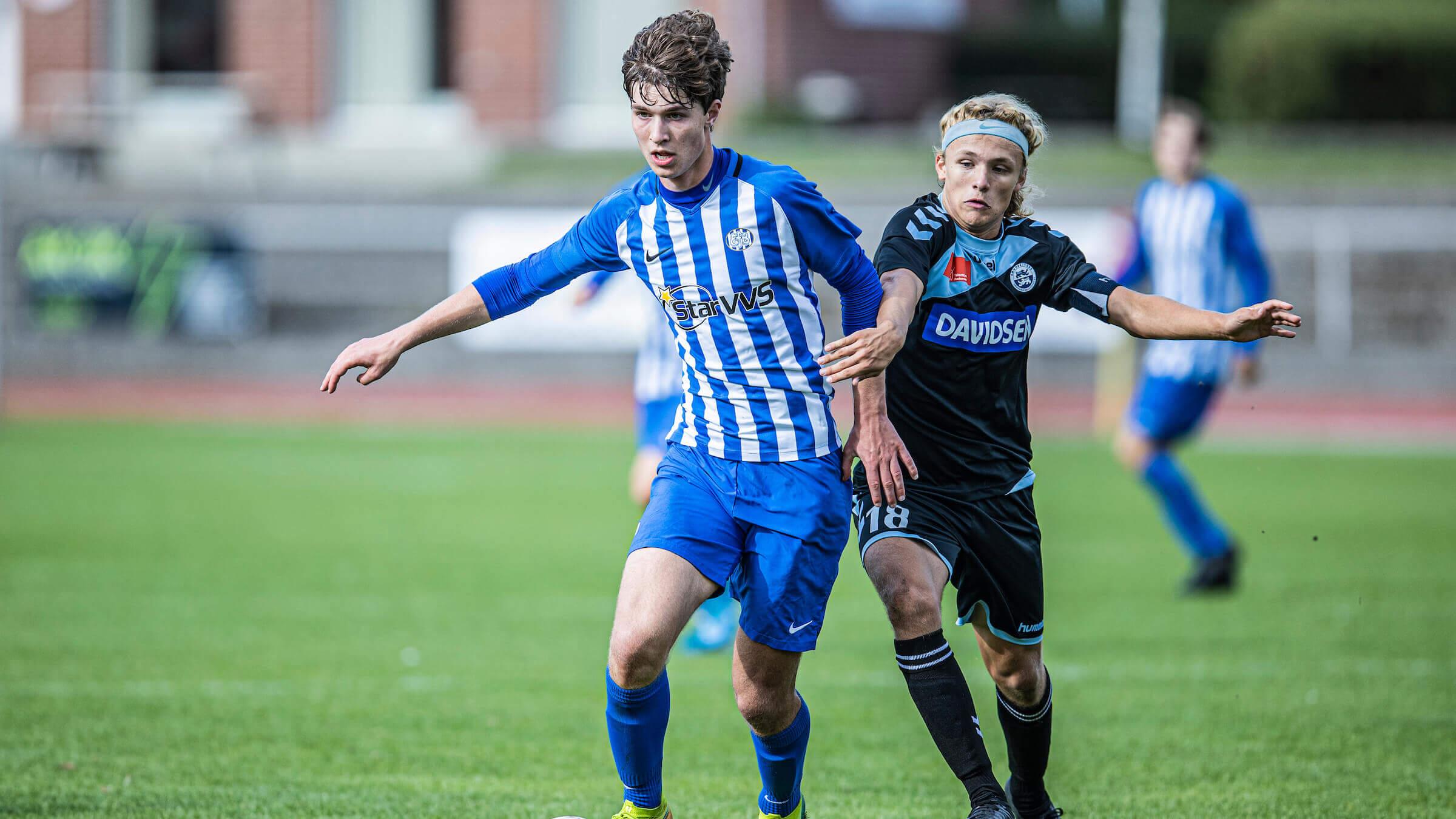 U17-holdets gode stime sluttede mod Horsens