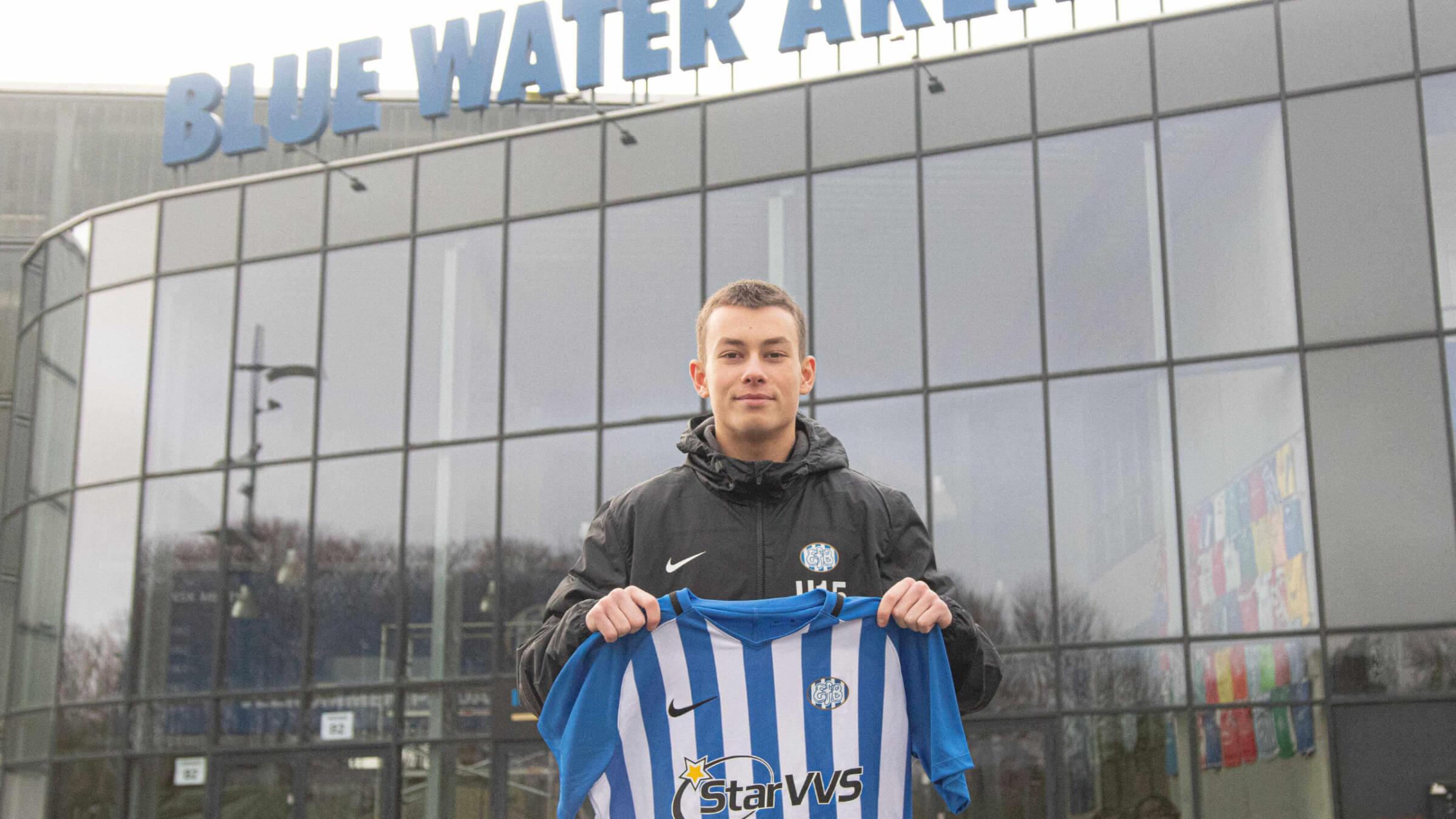 EfB skriver kontrakt med ung offensivspiller