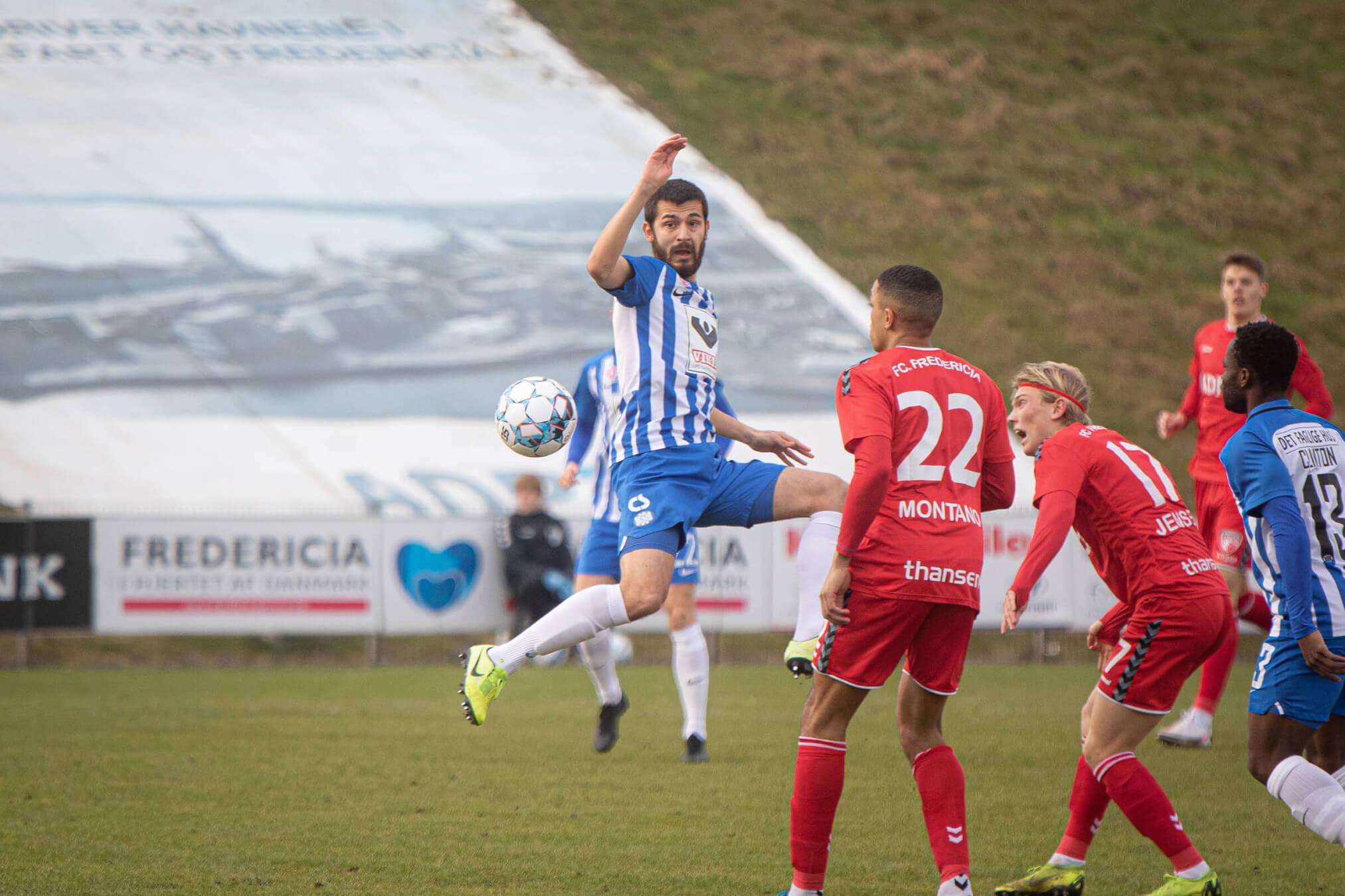 EfB vandt i Fredericia trods hektisk afslutning