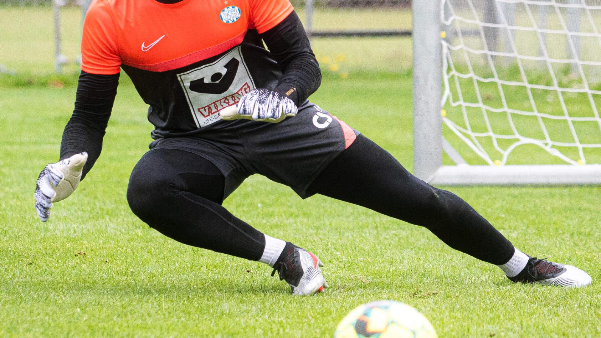 Hollandsk målmand tester i EfB