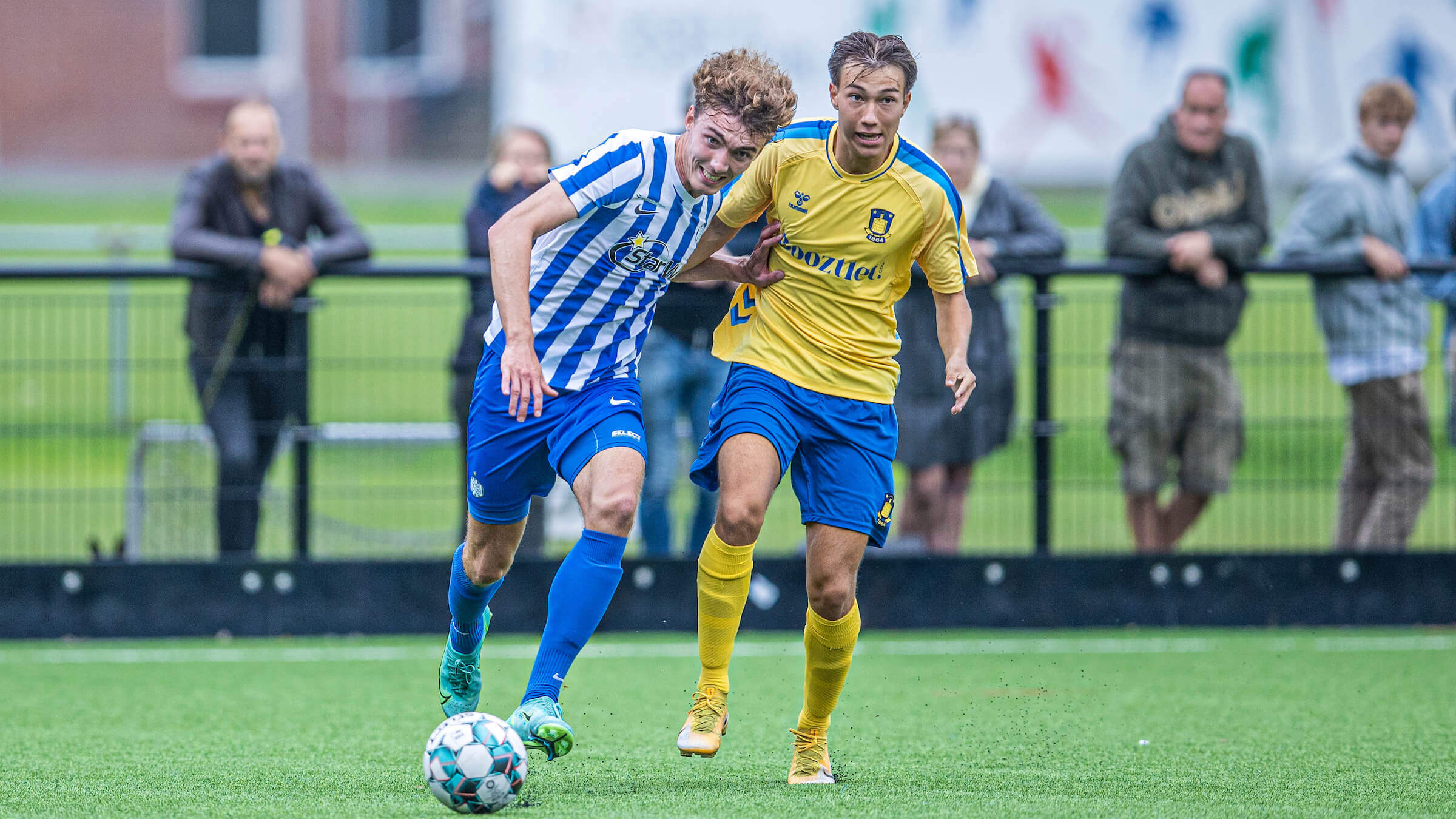 U19 ramte muren mod FCN