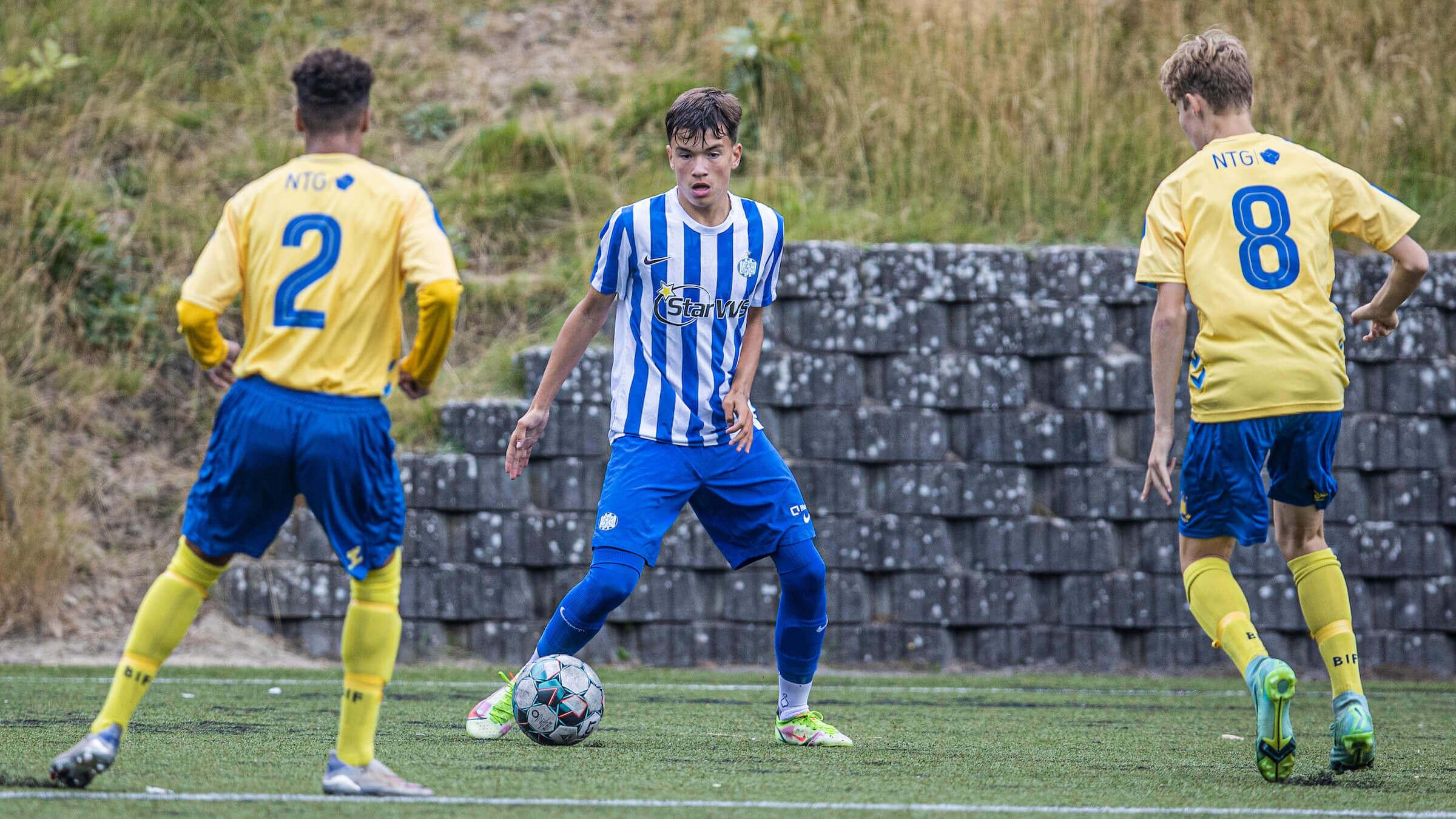 U17 spillede godt i Silkeborg